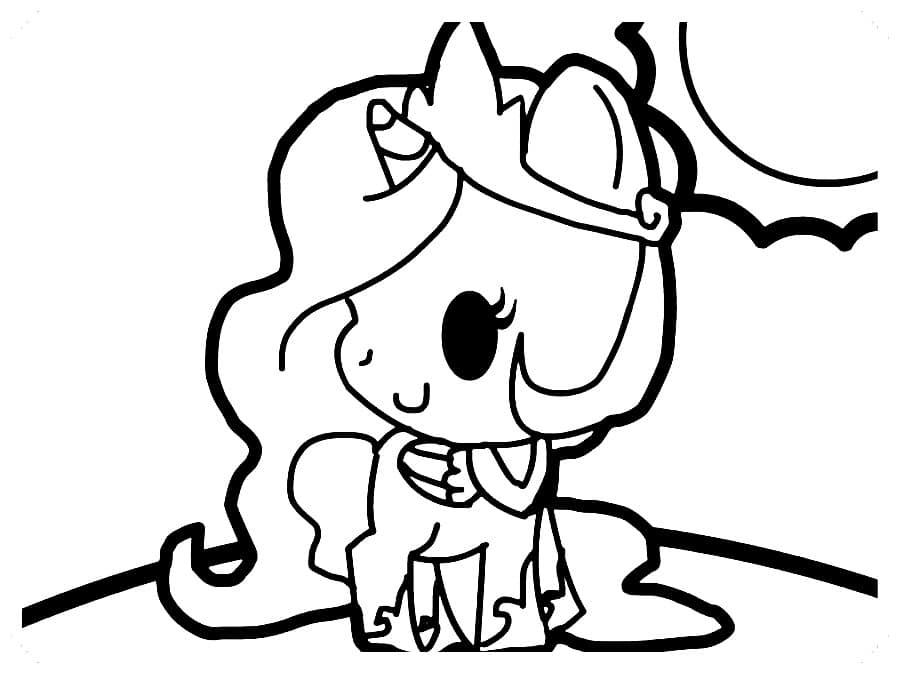 Dibujos De Unicornios Para Colorear Kawaii Imagenes Para