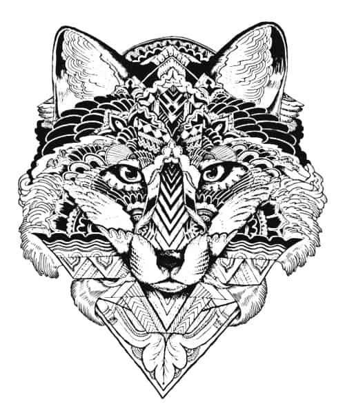 mandala lobos