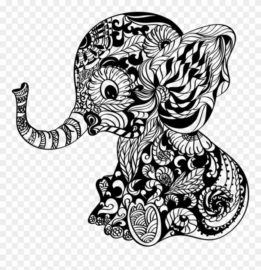 mandalas elefantes