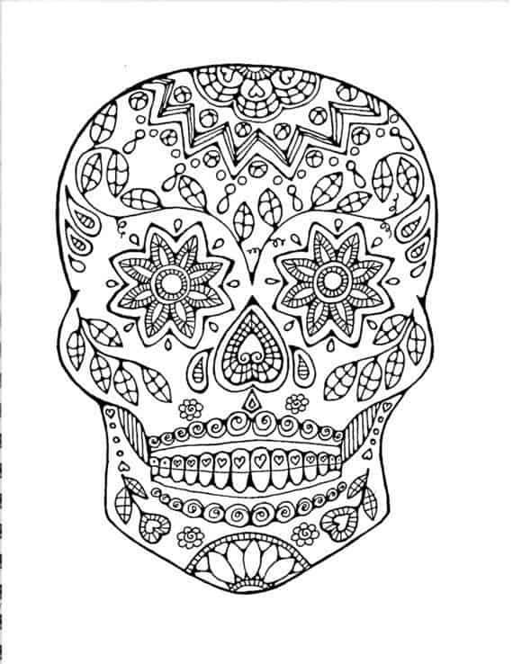 mandalas de calaveras pdf flores