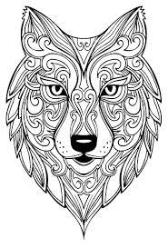 lobos mandalas