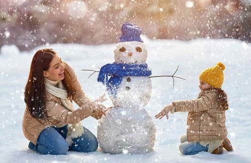 Imágenes de mandalas de Navidad infantiles