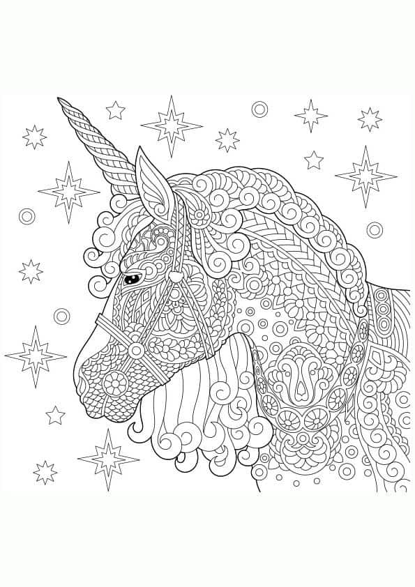 Mandalas Y Dibujos De Unicornios Para Colorear 2019