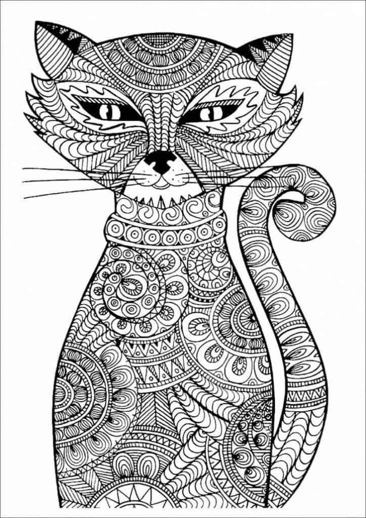 mandalas con gatos
