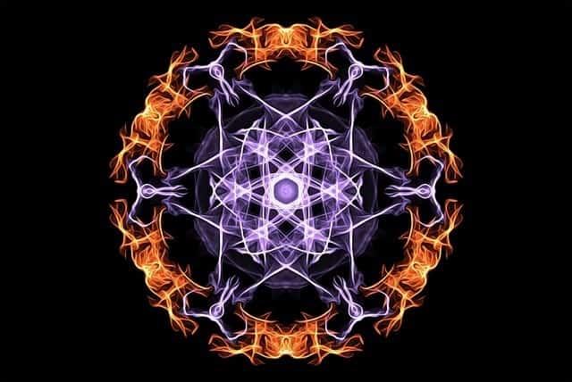Mandala simetrico
