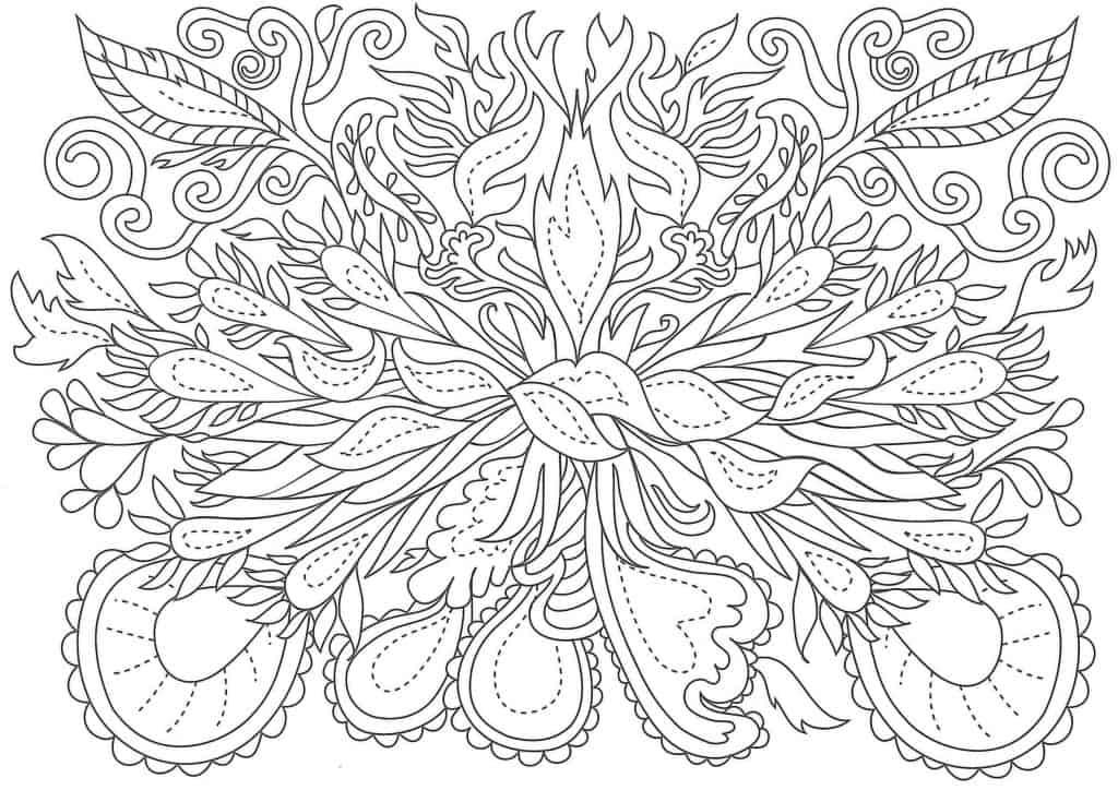 Imagen de flores para imprimir