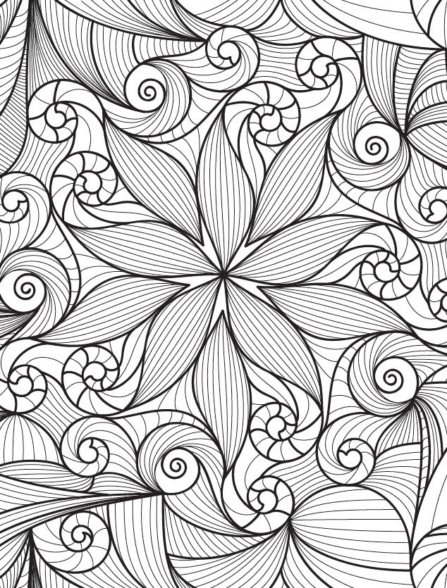Dibujo de plantas para colorear