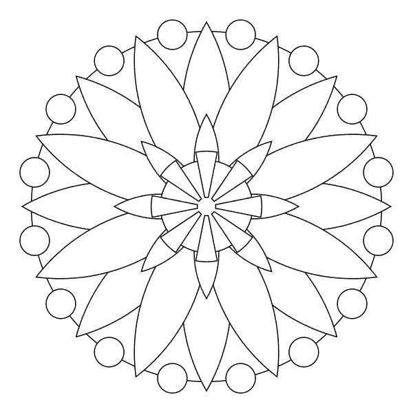 Flor geométrica