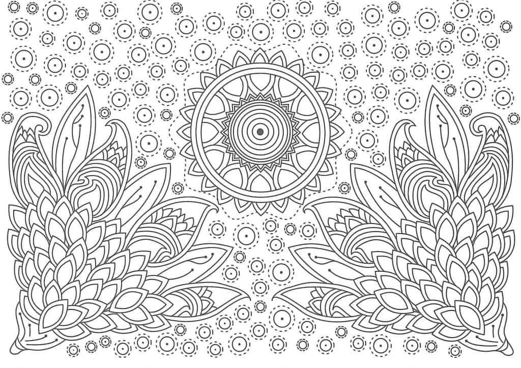 10 Mandalas De Verano Para Colorear