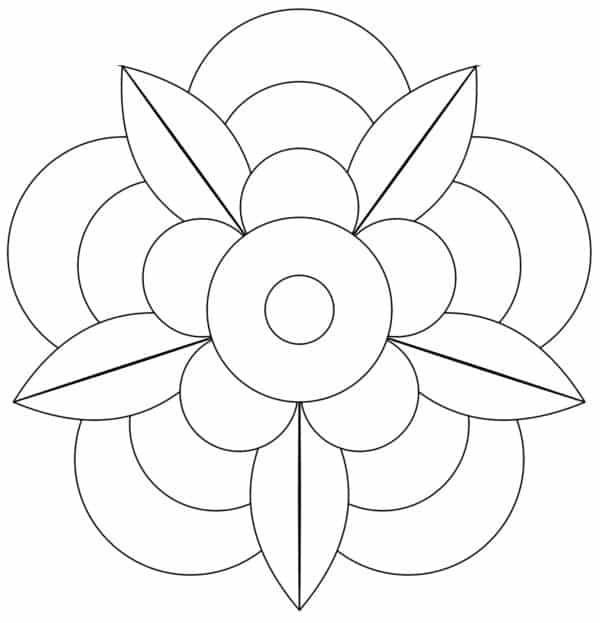 dibujos geometricos faciles