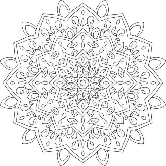 pdf mandala geometrica