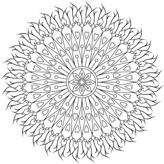 mandalas geometricas tatuaje