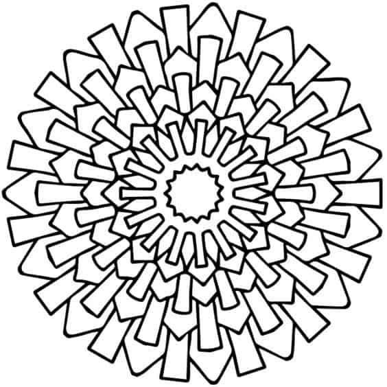 figuras geometricas mandalas