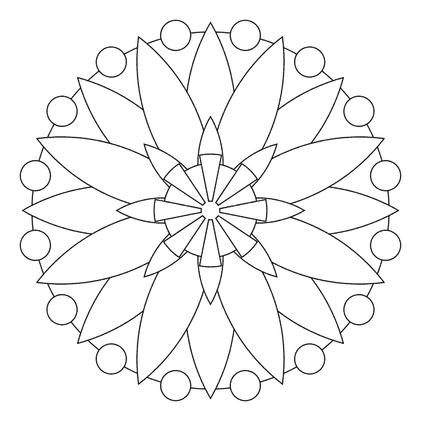 mandala geometrica pdf