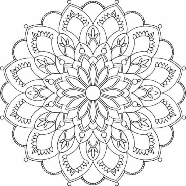 dibujos para colorear con figuras geometricas