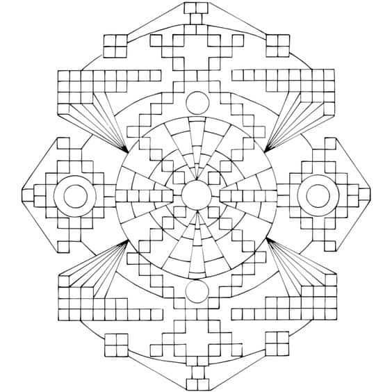 mandala geometrico