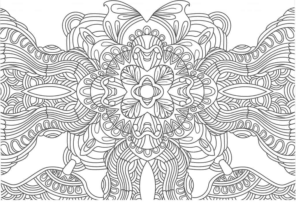 40 Mandalas No Circulares Para Colorear