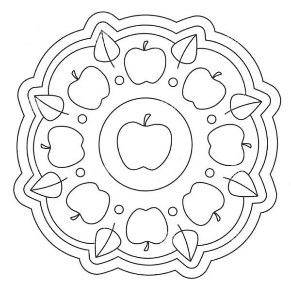 100 Dibujos De Mandalas Faciles Para Imprimir2019