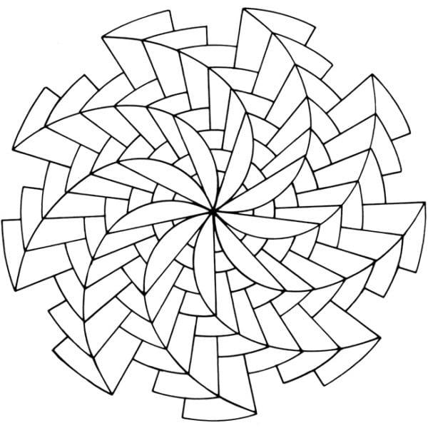100 Dibujos De Mandalas Faciles Para Imprimir 2020