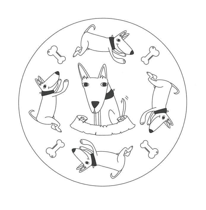 perros para dibujar