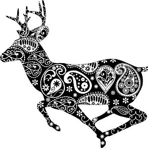 mandalas navidad chrismats