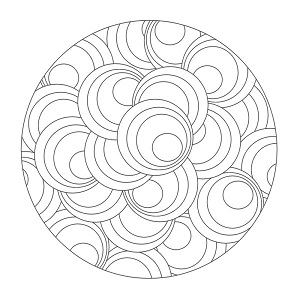 mandalas faciles ninos easy children